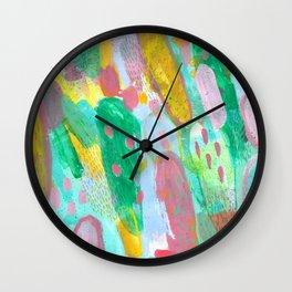 Prick Season Wall Clock