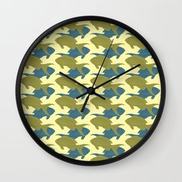 Fish 5 Wall Clock