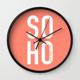 Soho New York City Wall Clock