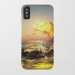 out of water iPhone Case