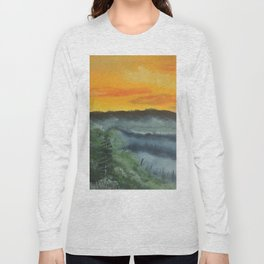 What lies beyond the valley Long Sleeve T-shirt