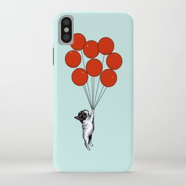 I Believe I Can Fly French Bulldog iPhone Case