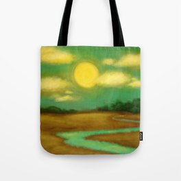 Sunny River Tote Bag