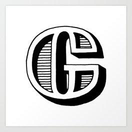 G Art Print