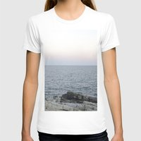 maine T-shirts featuring Maine Coast by AlanW