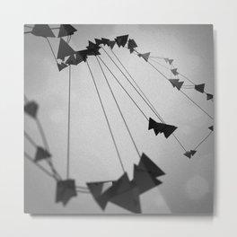 Plato / Tetrahedron = Fire Metal Print