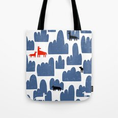 Animal World Tote Bag