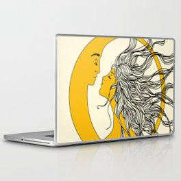 Sun and Moon Laptop & iPad Skin
