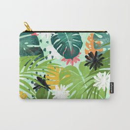 Tropical Art Design Carry-All Pouch
