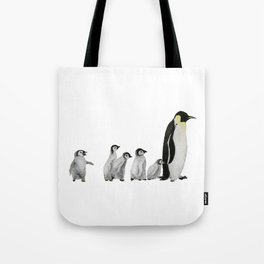 Little penguin says NO I am not going with you Tote Bag