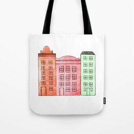 The Vibrance of Stockholm Tote Bag