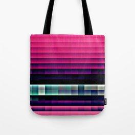 Hot Pink Pixels Tote Bag