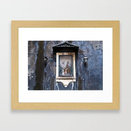 Sicilian Facade of CATANIA Framed Art Print