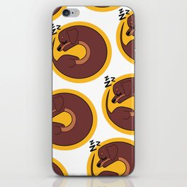 Sleepy Dachshund iPhone Skin