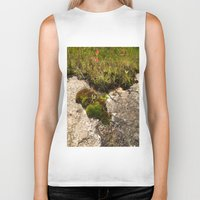 oasis Biker Tanks featuring A Hill Country Oasis... by TexasArt