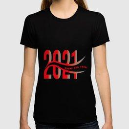 Happy New Year 2021 T-Shirt, Christmas Shirt, Happy New Year Shirt, Holiday shirt, New 2021 T-shirt T-shirt