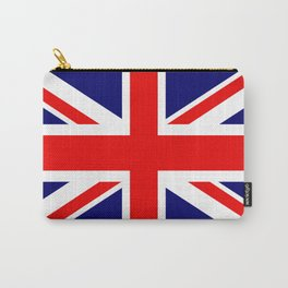 Union Jack Flag Carry-All Pouch