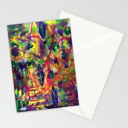 """Summer Dance"" Original Painting by Julia Barnickle Stationery Cards"
