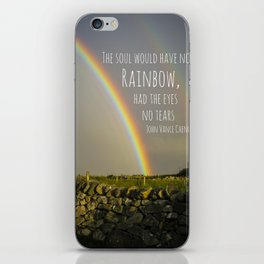 The Soul Would Have No Rainbow iPhone Skin