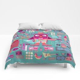 singpentinkhappy band II Comforters