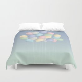 Balloons bouquet Duvet Cover