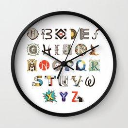 A-Z Art History Wall Clock