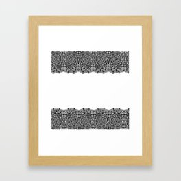 Lacework Framed Art Print
