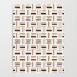 AFE Modern Basket Weave Poster
