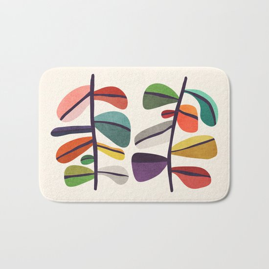 Plant specimens Bath Mat