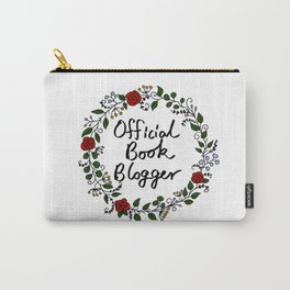 Official Book Blogger Carry-All Pouch