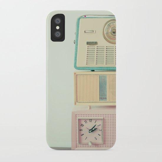 Radio Stations iPhone Case