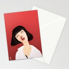 Mrs Mia Wallace Stationery Cards