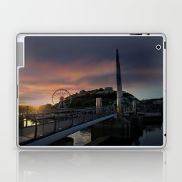 Torquay Harbour At Sunset Laptop & iPad Skin