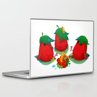 strawberry Laptop & iPad Skins featuring Strawberry by DanBee Kim