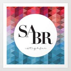 SABR Art Print