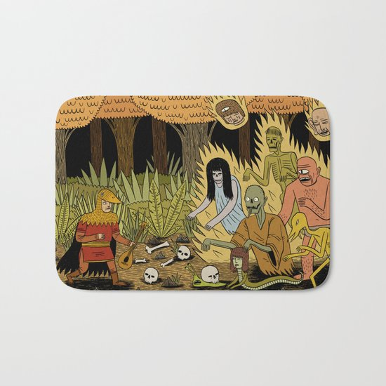 The Woodland Ghosts Bath Mat
