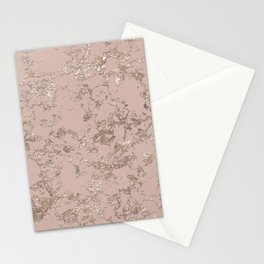 Blush Pink Marble Stationery Cards