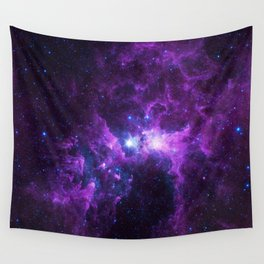 Purple Galaxy Wall Tapestry