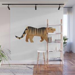 Origami Tiger Wall Mural