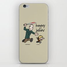 Tommy and Jason iPhone & iPod Skin