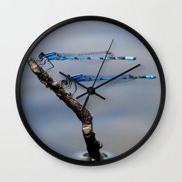 Damselflies Wall Clock