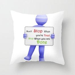 Cforsmile- Action Throw Pillow