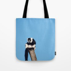 Varecia Variegata III Tote Bag