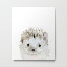 Hedgehog. Metal Print