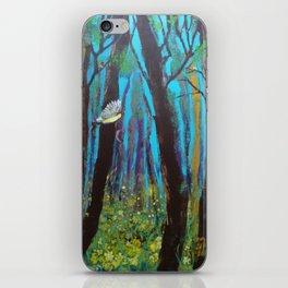 Woodland Window iPhone Skin