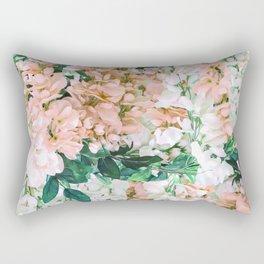 1992 Floral Rectangular Pillow