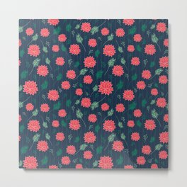 PomFlower Summer Metal Print