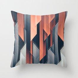 ABSTRACT 17a Throw Pillow