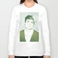 tegan and sara Long Sleeve T-shirts featuring Tegan by GirlApe