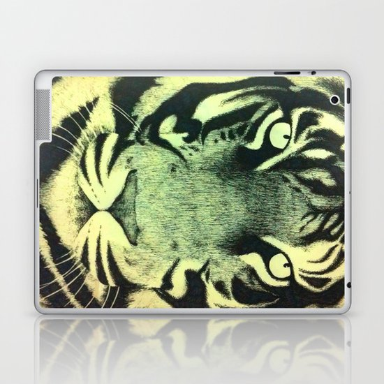 Be a Tiger (Yellow) Laptop & iPad Skin